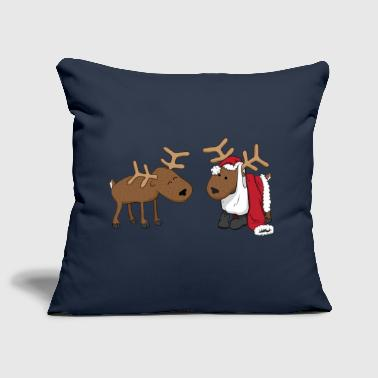 reindeer fun - Sofa pillow cover 44 x 44 cm