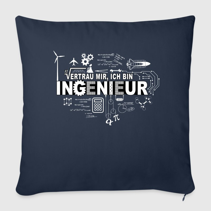 TRUST ME - I'M AN ENGINEER - Sofa pillow cover 44 x 44 cm
