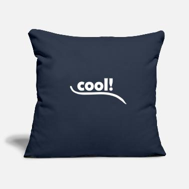 Cool cool cool cool white - Sofa pillow cover 44 x 44 cm