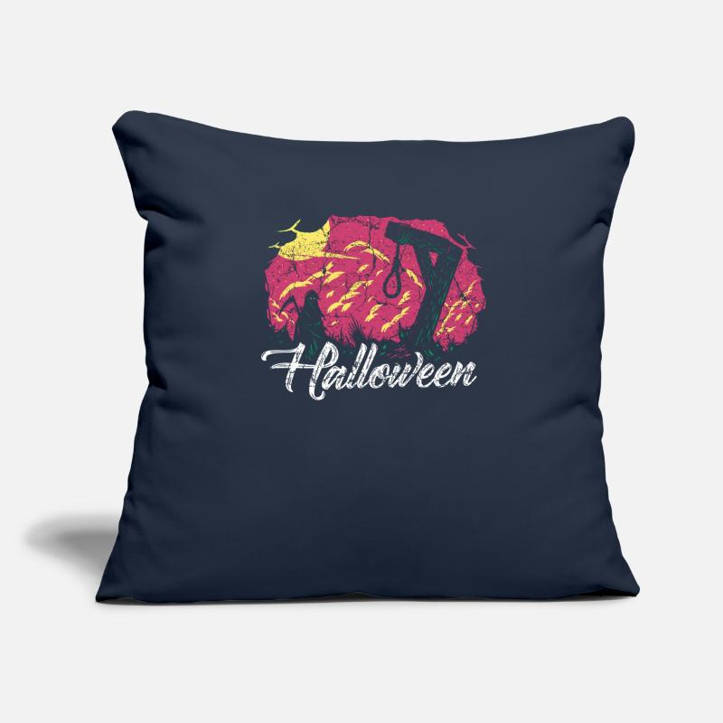 Horror Pillow cases - Halloween, horror, horror, grim reaper - Pillow Case navy