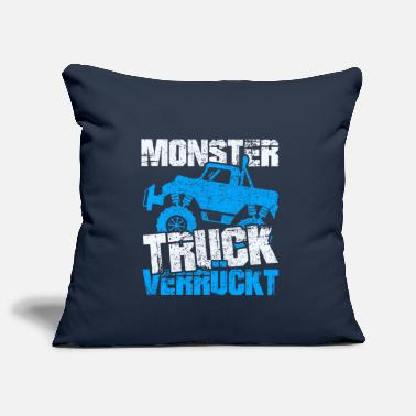 Stemming Monster Truck Crazy - Sierkussenhoes, 44 x 44 cm