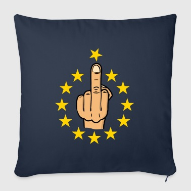 fuck eu / brexit / anti europe / fuck europe - Sofa pillow cover 44 x 44 cm