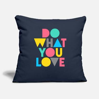 Love graphic - Sofa pillow cover 44 x 44 cm
