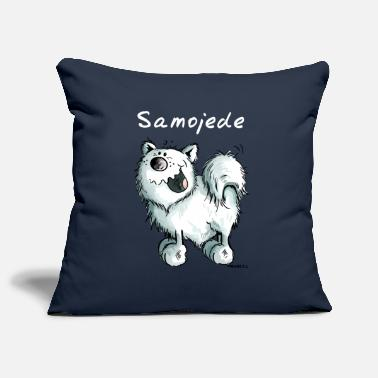 Cartoon Samoyed Funny samoyed - Samoyeds - Dog - Cartoon - Gift - Pillowcase 17,