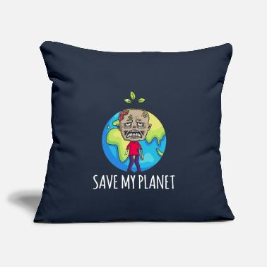 Zombie Earth Day Gift Environment - Sofa pillow cover 44 x 44 cm