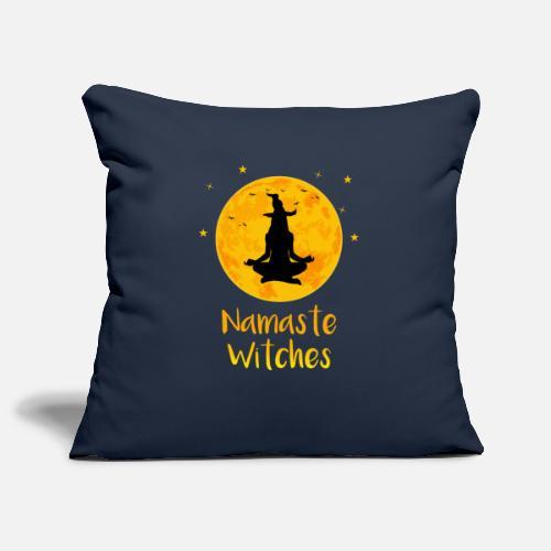 Halloween Yoga Shirt Namaste Witches Cool Lustig Kissenhulle