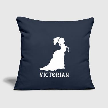victorian wite - Sofa pillow cover 44 x 44 cm