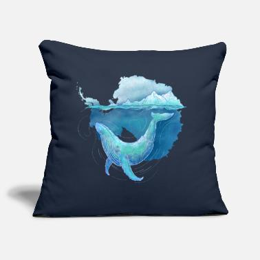 Nature Collection Whale Sanctuary - Pillowcase 17,3'' x 17,3'' (45 x 45 cm)