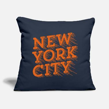 Typo Collection New York City Geniale - Sofa pillow cover 44 x 44 cm