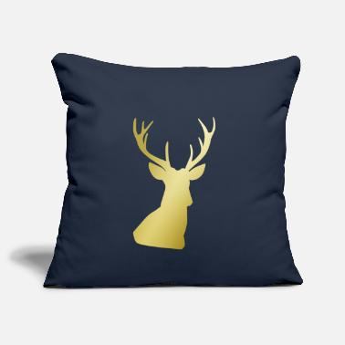 Deer Print - Sofa pillow cover 44 x 44 cm