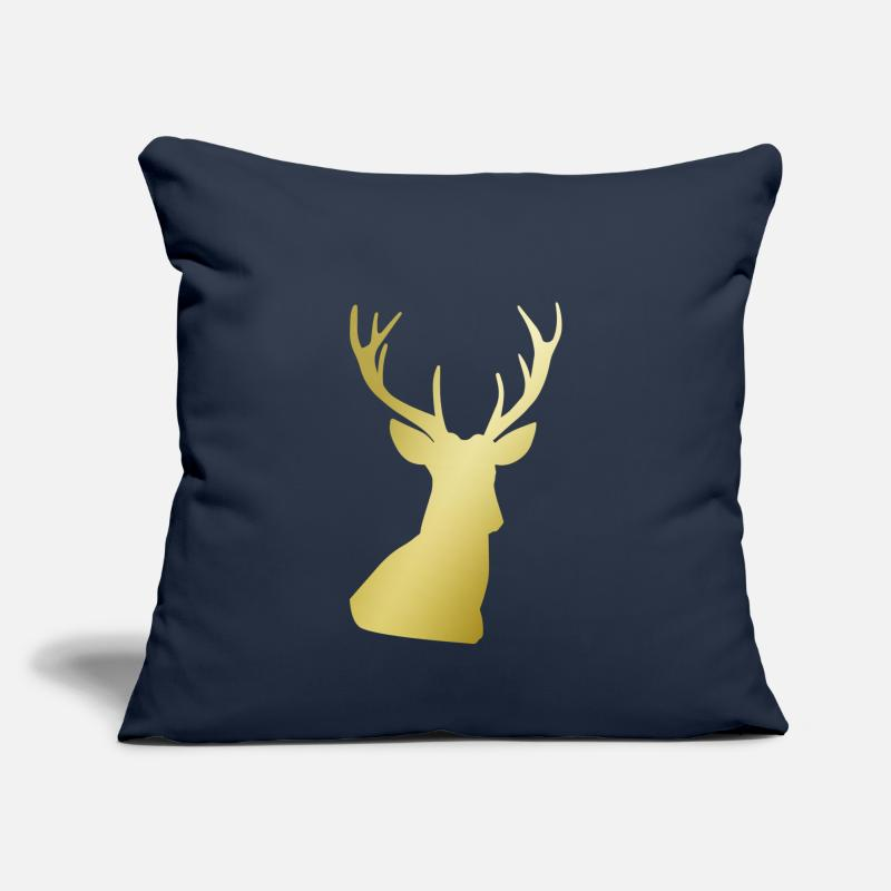 Bestseller Pillow cases - Deer Print - Pillow Case navy