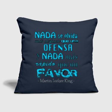 Phrase - Martin Luther King - Sofa pillow cover 44 x 44 cm