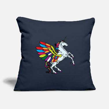Fable flying unicorn fable - Pillowcase 17,3'' x 17,3'' (45 x 45 cm)