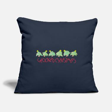 Crook Crooked Christmas - Pillowcase 17,3'' x 17,3'' (45 x 45 cm)