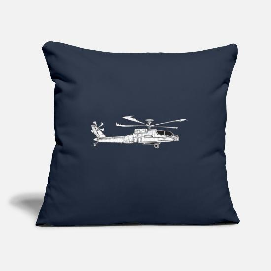 Christmas Pillow Cases - Military army soldier military vehicles - Pillowcase 17,3'' x 17,3'' (45 x 45 cm) navy