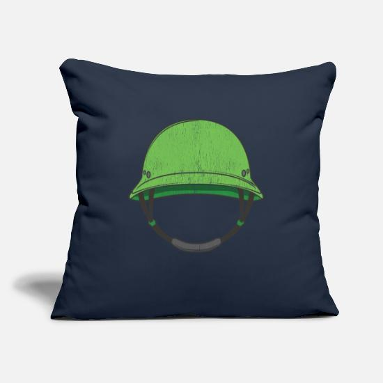 Military Pillow Cases - Military army soldier military vehicles - Pillowcase 17,3'' x 17,3'' (45 x 45 cm) navy