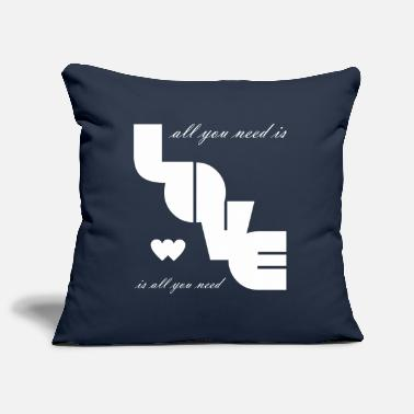 Love is all you need Love Valentine's Day bright 8 - Pillowcase 17,3'' x 17,3'' (45 x 45 cm)