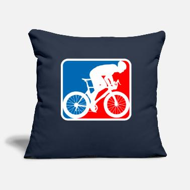 Road Bike road bike logo - Pillowcase 17,3'' x 17,3'' (45 x 45 cm)