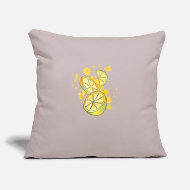 Lemons Fruits Lemon - Lemons - Fruits - Citrus - Pillowcase 17,3'' x 17,3'' (45 x 45 cm)