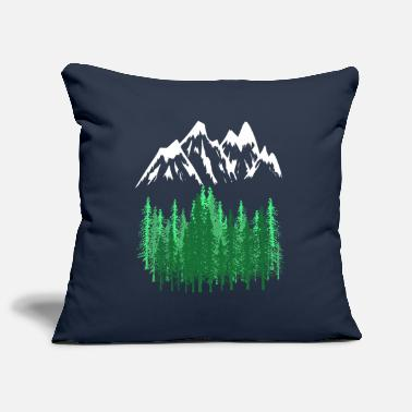 Mountains Mountains Mountains mountaineering - Pillowcase 17,3'' x 17,3'' (45 x 45 cm)