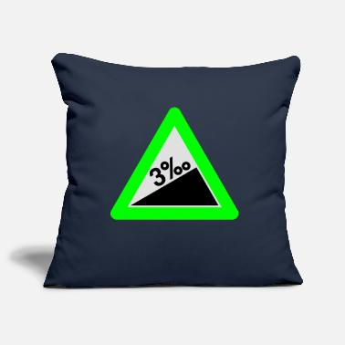 Betrunken 3 Promille | Thousandths | betrunken | drunken - Pillowcase 17,3'' x 17,3'' (45 x 45 cm)