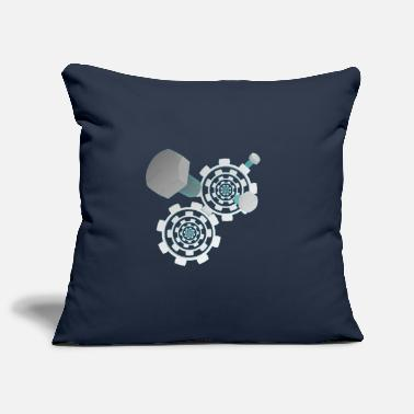 Gear Gears - Pillowcase 17,3'' x 17,3'' (45 x 45 cm)