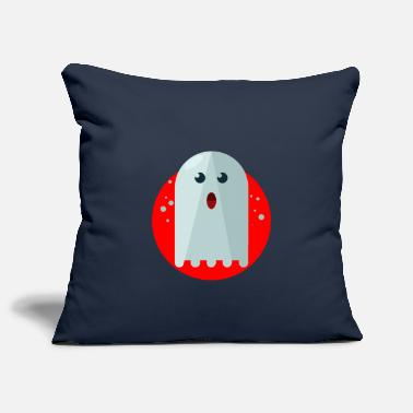 Ghost Ghost Ghost Ghost Halloween - Pillowcase 17,3'' x 17,3'' (45 x 45 cm)