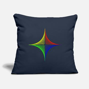 Geometric design Color intensive - Pillowcase 17,3'' x 17,3'' (45 x 45 cm)