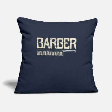 Barber Barber barber barber - Pillowcase 17,3'' x 17,3'' (45 x 45 cm)
