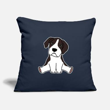 Boxer Dog, boxer, puppy, kawaii, cute - Pillowcase 17,3'' x 17,3'' (45 x 45 cm)