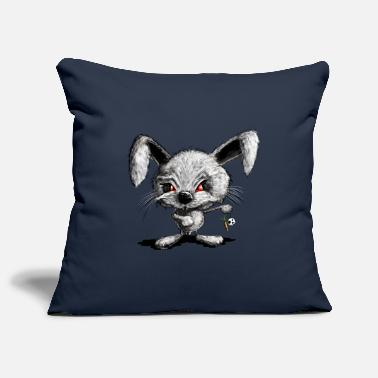 Halloween Rabbit I Horror Rabbit I Bad Rabbit - Pillowcase 17,3'' x 17,3'' (45 x 45 cm)