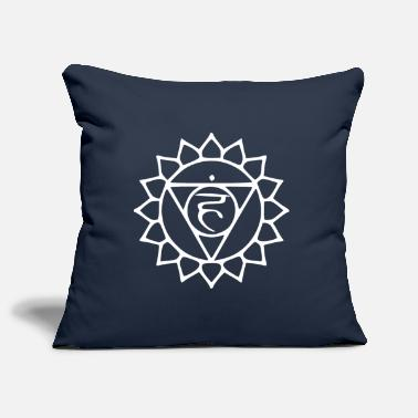 Throat Throat chakra - Pillowcase 17,3'' x 17,3'' (45 x 45 cm)
