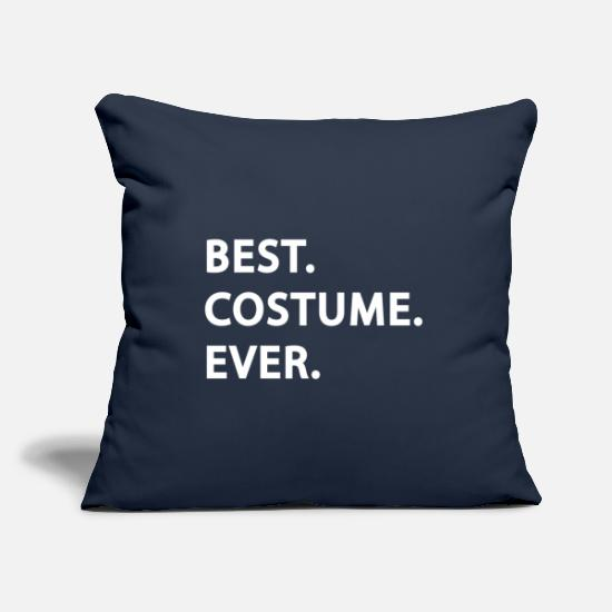 Gift Idea Pillow Cases - Best Costume Ever | funny halloween design - Pillowcase 17,3'' x 17,3'' (45 x 45 cm) navy