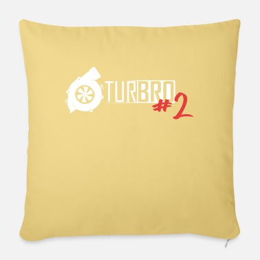 Charger Turbo Boost TurBRO # 2 - Pillowcase 17,3'' x 17,3'' (45 x 45 cm)