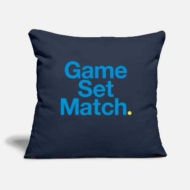 Open GAME, SET, MATCH - Housse de coussin
