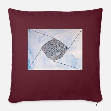 Quadrat Blaues Quadrat - Pillowcase 17,3'' x 17,3'' (45 x 45 cm)