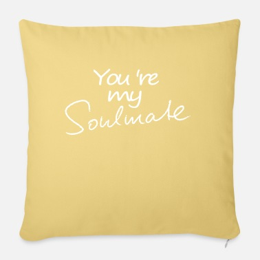 Soulmate Soulmate soulmate soulmate friendship - Pillowcase 17,3'' x 17,3'' (45 x 45 cm)