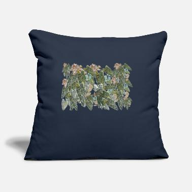 Botanical botanical pattern - Pillowcase 17,3'' x 17,3'' (45 x 45 cm)