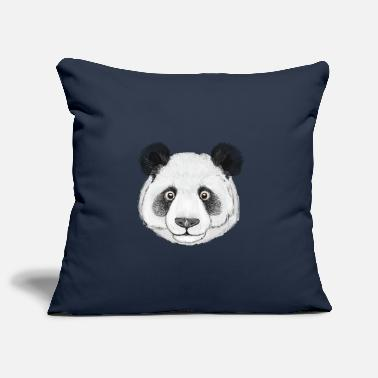 Panda head - Pillowcase 17,3'' x 17,3'' (45 x 45 cm)