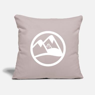 Ski Hut ski hut in alps - Pillowcase 17,3'' x 17,3'' (45 x 45 cm)