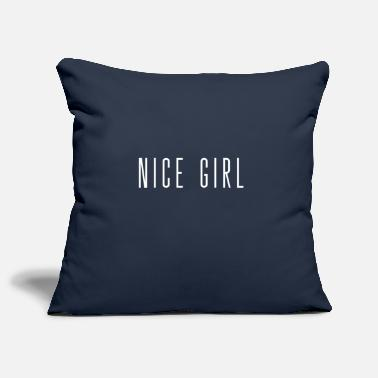 Nice girl - Pillowcase 17,3'' x 17,3'' (45 x 45 cm)