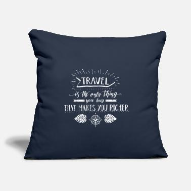 Travel Travel Travel Award Traveler - Pillowcase 17,3'' x 17,3'' (45 x 45 cm)