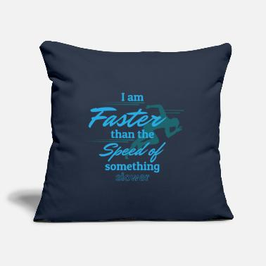 Fast Fast - Pillowcase 17,3'' x 17,3'' (45 x 45 cm)