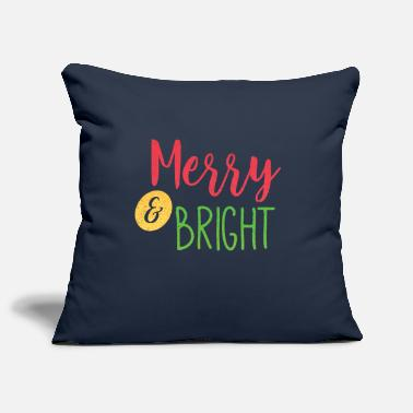 Rudolph Merry and bright - Pillowcase 17,3'' x 17,3'' (45 x 45 cm)
