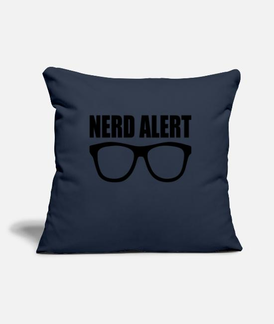Mummy Pillow Cases - nerd alert - Pillowcase 17,3'' x 17,3'' (45 x 45 cm) navy