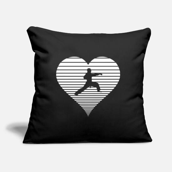 Martial Arts Pillow Cases - martial Arts - Pillowcase 17,3'' x 17,3'' (45 x 45 cm) black