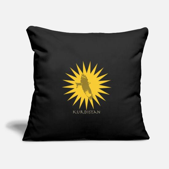 Irak Pillow Cases - Kurdistan - Pillowcase 17,3'' x 17,3'' (45 x 45 cm) black