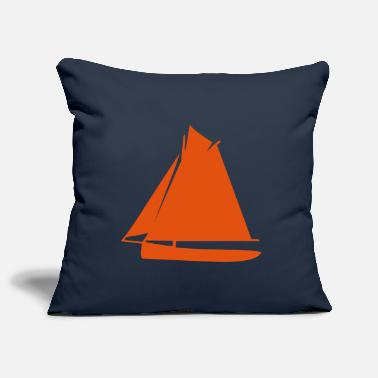 Sail Boat sailing boat - Pillowcase 17,3'' x 17,3'' (45 x 45 cm)