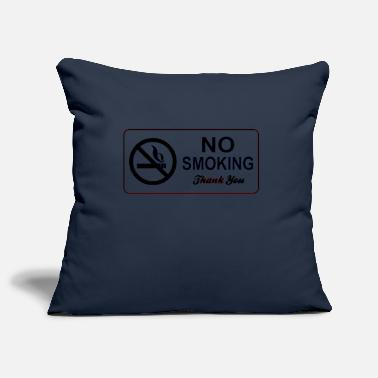 Smoking no smoking - Pillowcase 17,3'' x 17,3'' (45 x 45 cm)