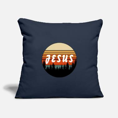 Kruis Jesus Retro Vintage Sunset - Christian - Kussenhoes